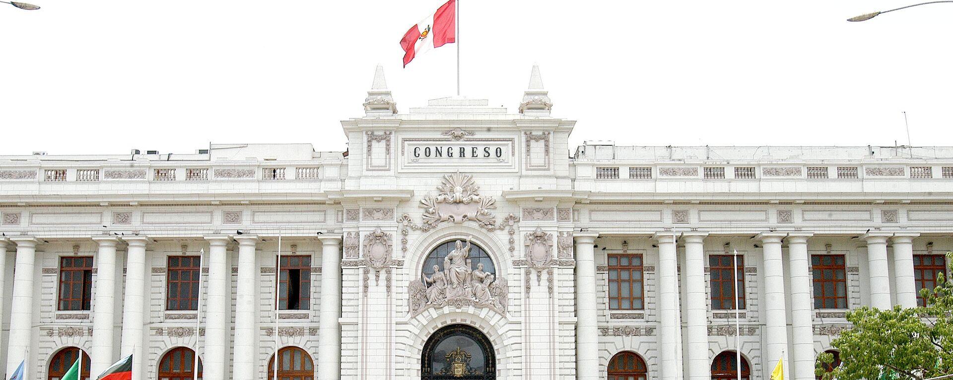 Congreso de la República del Perú - Sputnik Mundo, 1920, 10.04.2021