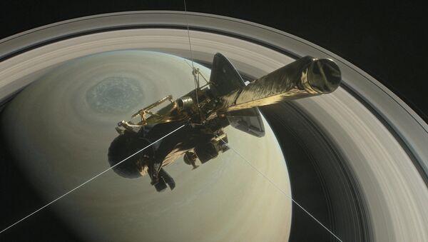 La sonda Cassini (archivo) - Sputnik Mundo