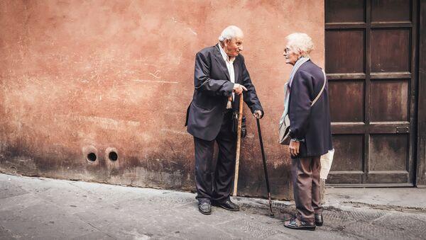 Los ancianos - Sputnik Mundo