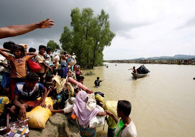 Los rohinyás de Birmania (archivo)
