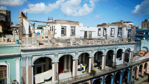 Consecuencias del huracán Irma en La Habana - Sputnik Mundo