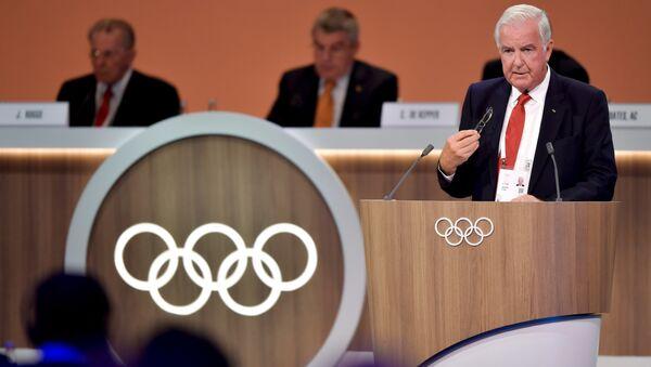 Sir Craig Reedie, miembro de COI y WADA, en Lima (archivo) - Sputnik Mundo