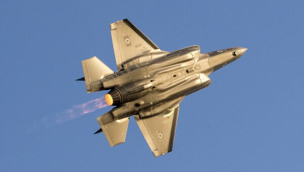 Un avión israelí - Sputnik Mundo