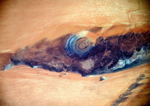 El 'ojo del Sáhara'