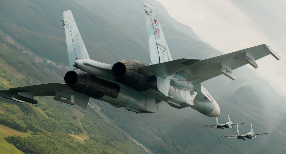 Los cazas polivalentes rusos Su-27