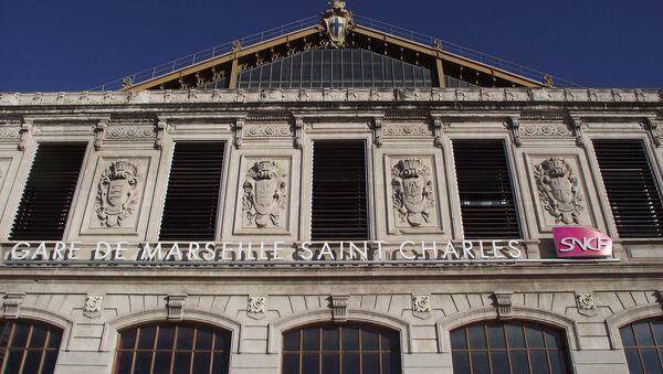 La estación Saint-Charles en Marsella, Francia - Sputnik Mundo