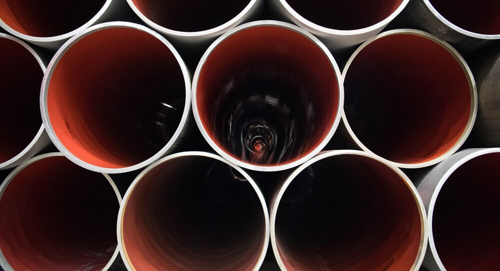 La fabricación del gasoducto Nord Stream 2