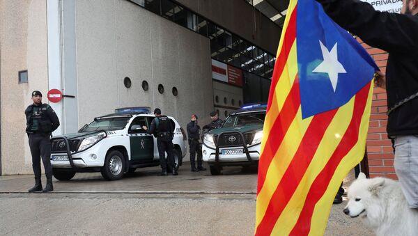 La Guardia Civil en Cataluña - Sputnik Mundo