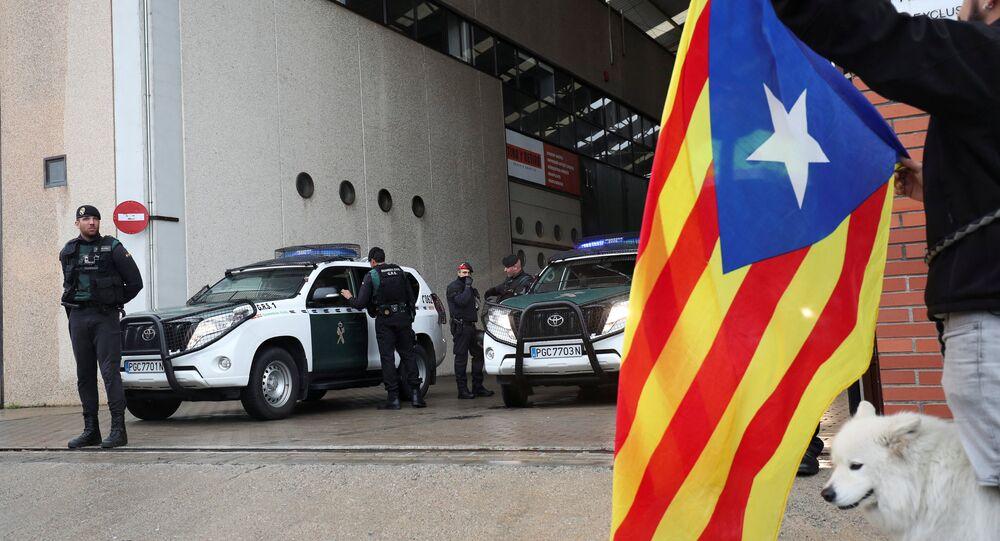 La Guardia Civil en Cataluña