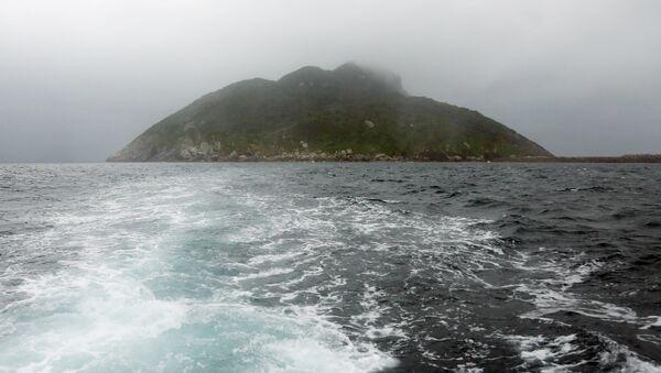 La isla de Okinoshima - Sputnik Mundo