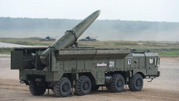 Sistema de misiles Iskander (archivo) - Sputnik Mundo