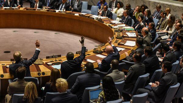 Una sesión de la Asamblea General de la ONU (archivo) - Sputnik Mundo