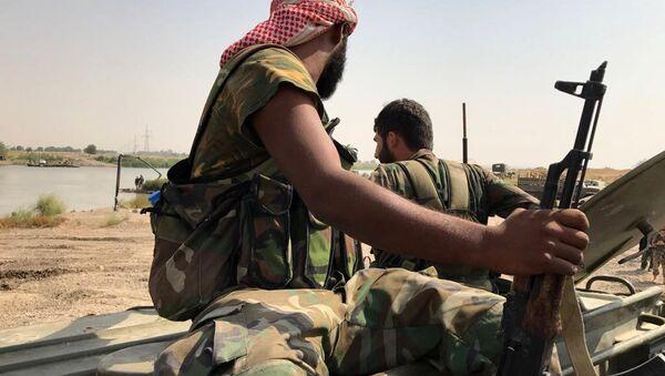 Militares sirios, foto de archivo - Sputnik Mundo