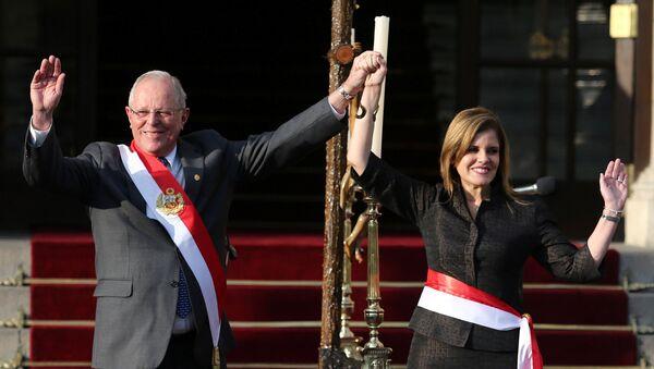 Mercedes Aráoz, segunda vicepresidenta de Perú (archivo) - Sputnik Mundo