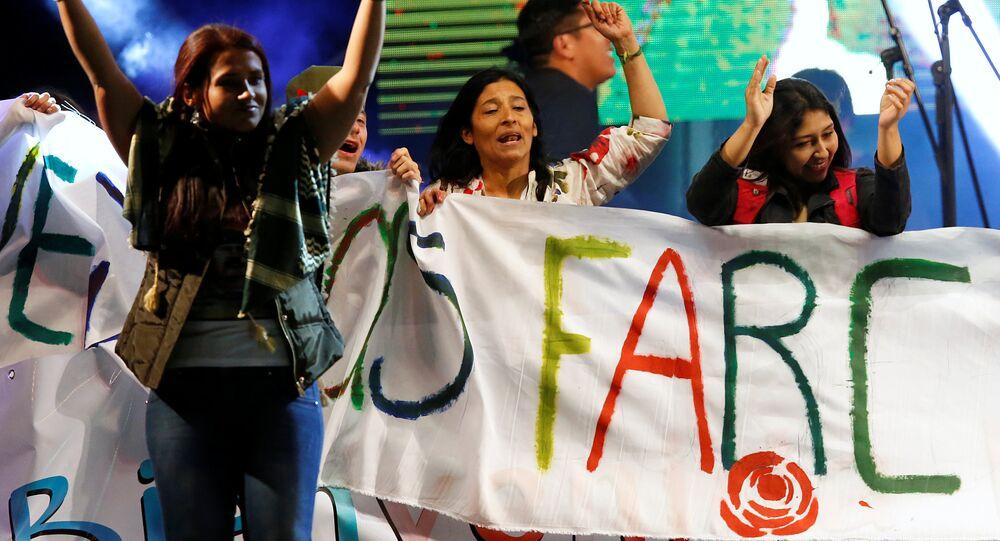 Partidarios de las FARC (archivo)