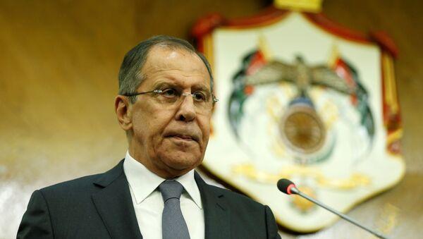 El ministro ruso de Asuntos Exteriores, Serguéi Lavrov - Sputnik Mundo