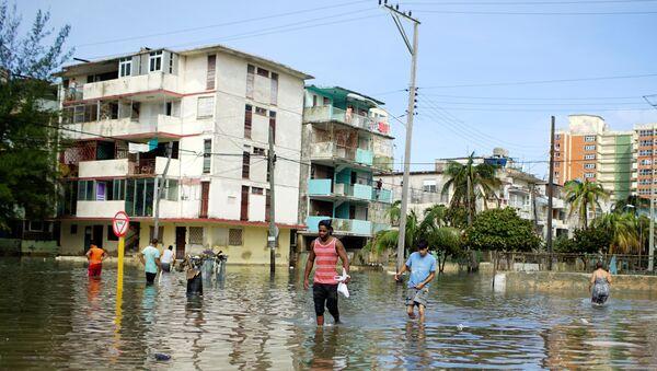 La Habana, Cuba, tras el huracán Irma - Sputnik Mundo