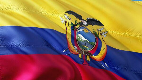 La bandera de Ecuador - Sputnik Mundo
