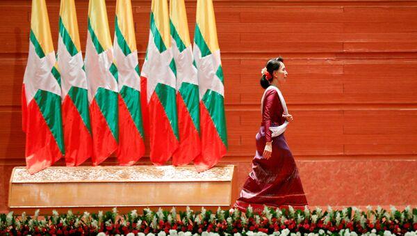 Aung San Suu Kyi, Consejera de Estado birmana - Sputnik Mundo