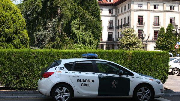 Coche de la Guardia Civil española - Sputnik Mundo