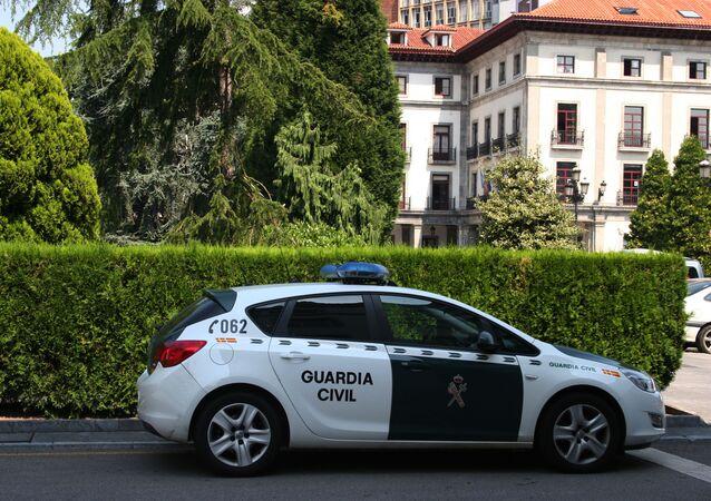 Coche de la Guardia Civil española (archivo)