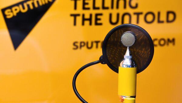 Estudio de Radio Sputnik - Sputnik Mundo