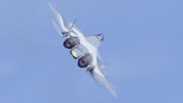 Su-57, caza ruso de quinta generación - Sputnik Mundo