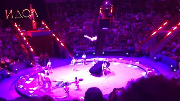 Un acróbata trata de establecer el récord Guinness y se rompe el cuello - Sputnik Mundo