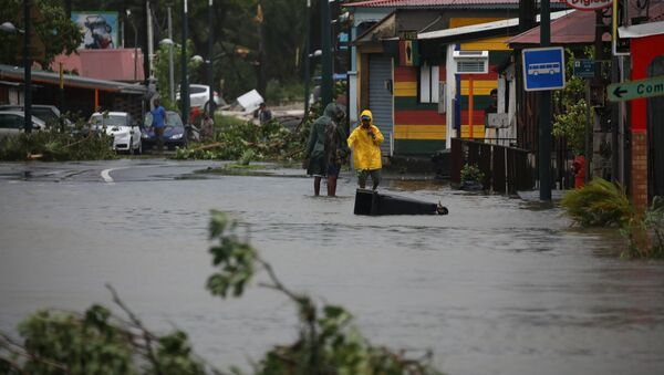 Consecuencias del huracán María - Sputnik Mundo