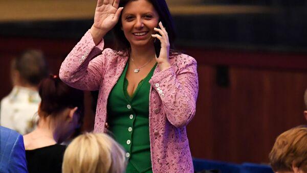 Margarita Simonián, directora de RT y Sputnik - Sputnik Mundo