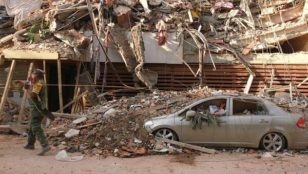 Consecuencias del terremoto en México - Sputnik Mundo