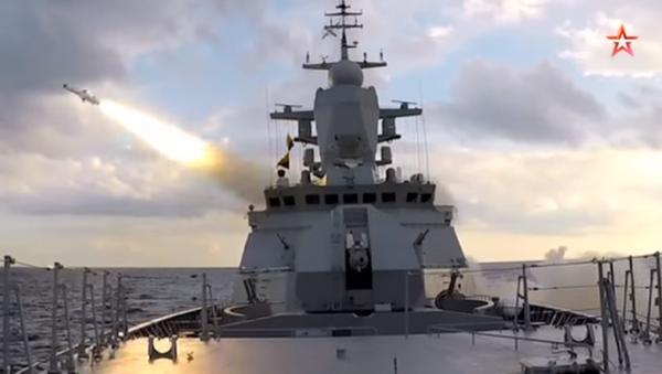 El simulacro de lanzamiento de misiles rusos en el mar Báltico - Sputnik Mundo