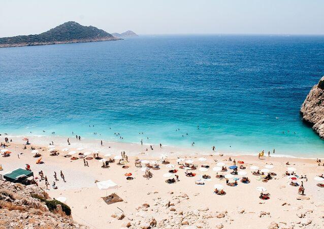Una playa en Turquía