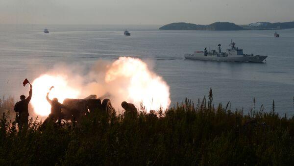 El ejercicio ruso-chino Cooperación Naval 2017 - Sputnik Mundo