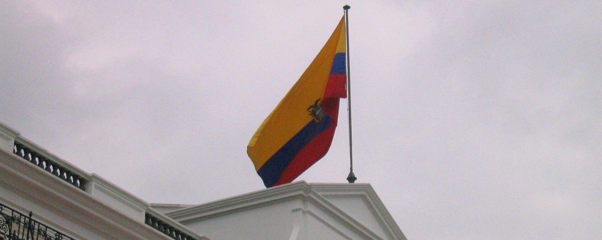 Bandera de Ecuador - Sputnik Mundo, 1920, 02.06.2021