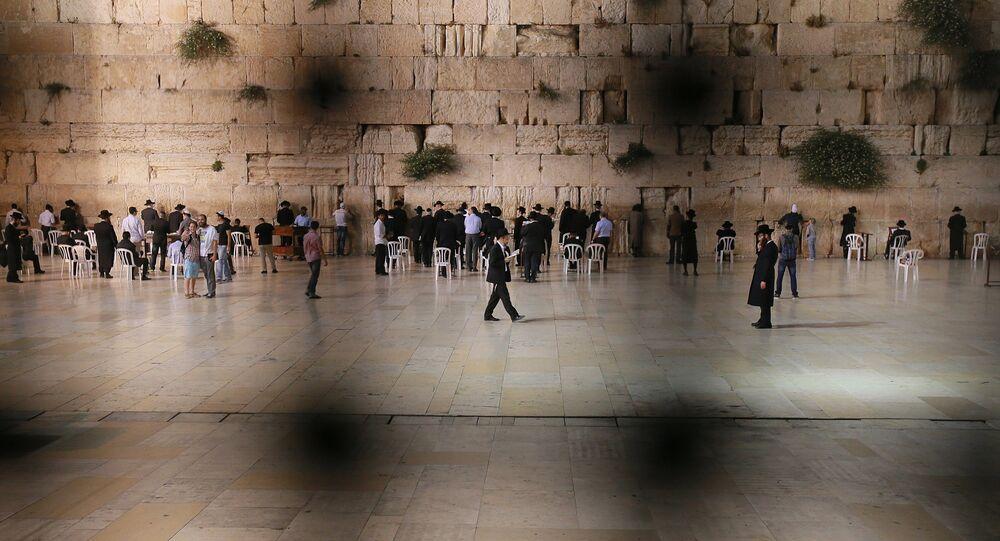 Muro de Lamentaciones en Jerusalén, Israel (archivo)