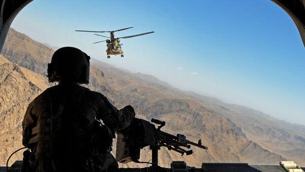 Militares estadounidenses en Afganistán - Sputnik Mundo