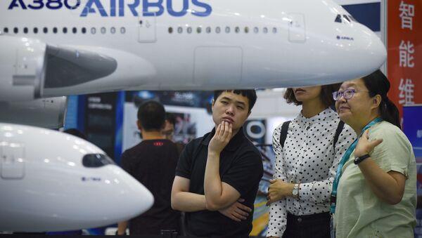Novedades aeroespaciales en Aviation Expo China 2017 - Sputnik Mundo