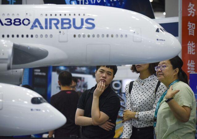 Novedades aeroespaciales en Aviation Expo China 2017