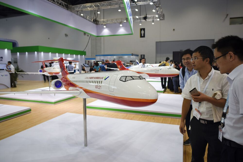 Novedades aeroespaciales en Aviation Expo China 2017
