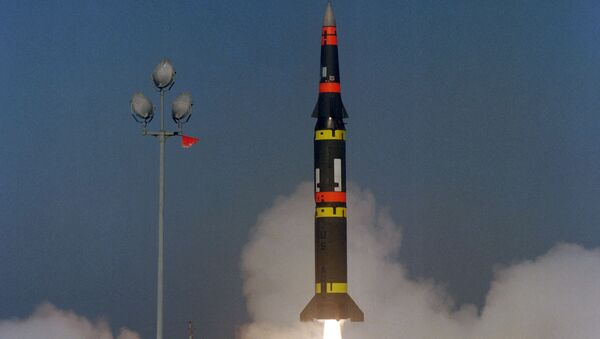 Pershing II, misil balístico estadounidense de alcance medio - Sputnik Mundo