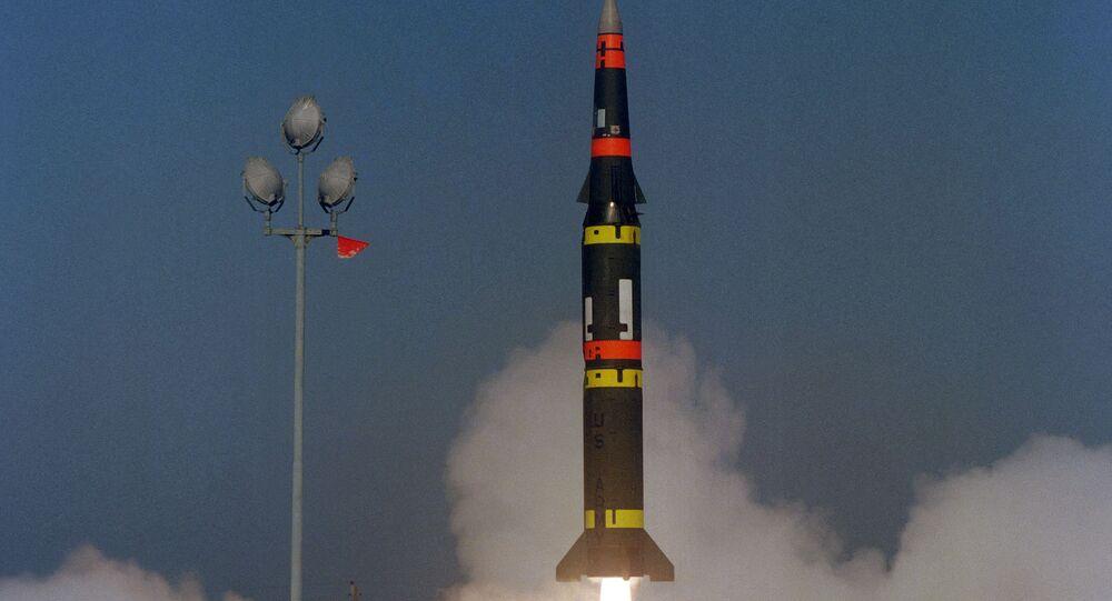 Pershing II, misil balístico estadounidense de alcance medio