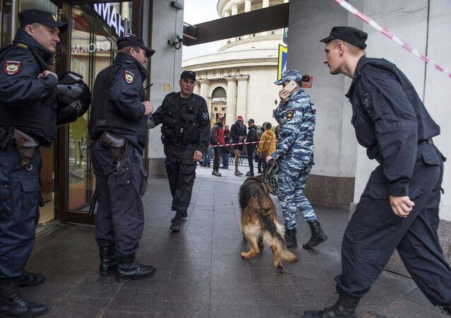 Evacuación en San Petersburgo
