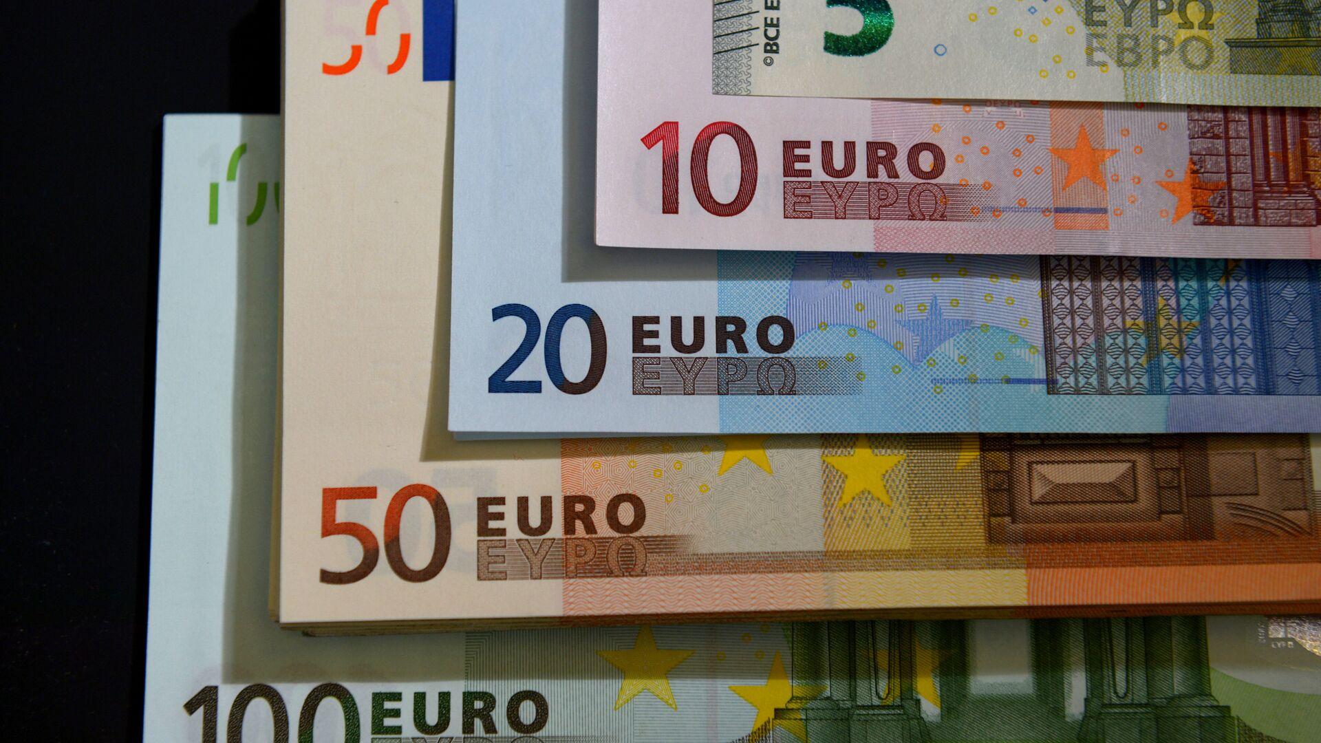 Euros (imagen referencial) - Sputnik Mundo, 1920, 11.05.2021