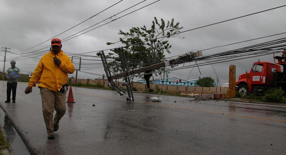 Huracán María en República Dominicana