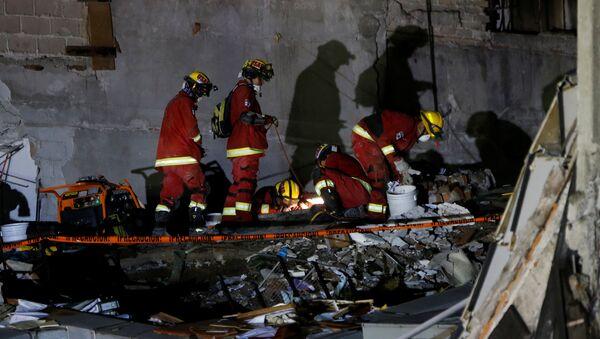Operaciones de rescate en México - Sputnik Mundo