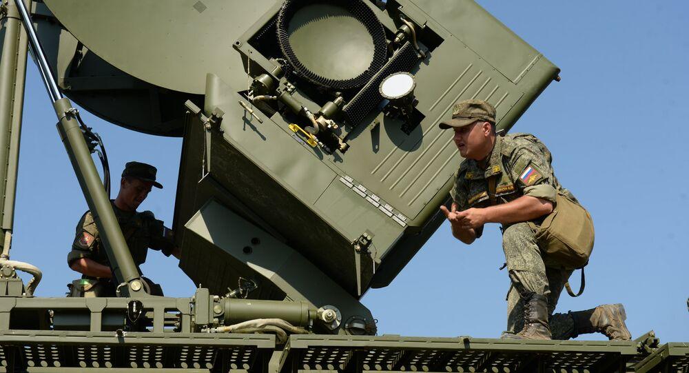 Krasuja-4, sistema ruso de guerra electrónica