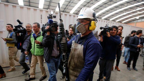 Armas de las FARC - Sputnik Mundo