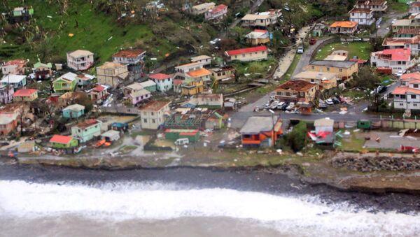 Las consecuencias del huracán María en Dominica - Sputnik Mundo
