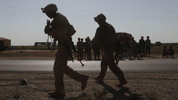Militares estadounidenses en Siria - Sputnik Mundo